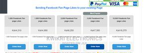 Increase Your Facebook Page Ikes | Computer & IT Services for sale in Nairobi, Nairobi Central
