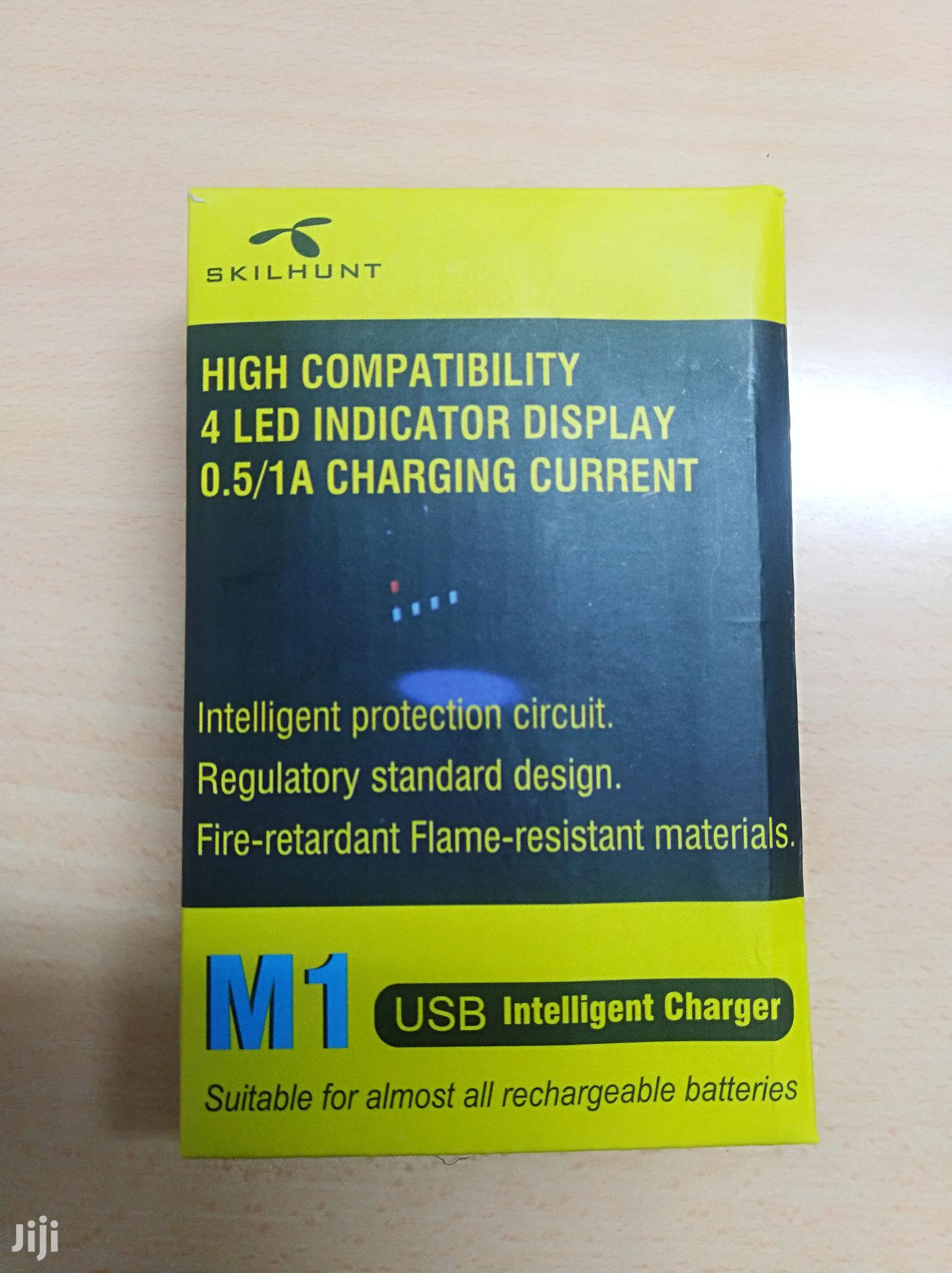 Intelligent Universal 18650 Li-Ion Battery Charger 3.7v | Accessories for Mobile Phones & Tablets for sale in Nairobi West, Nairobi, Kenya