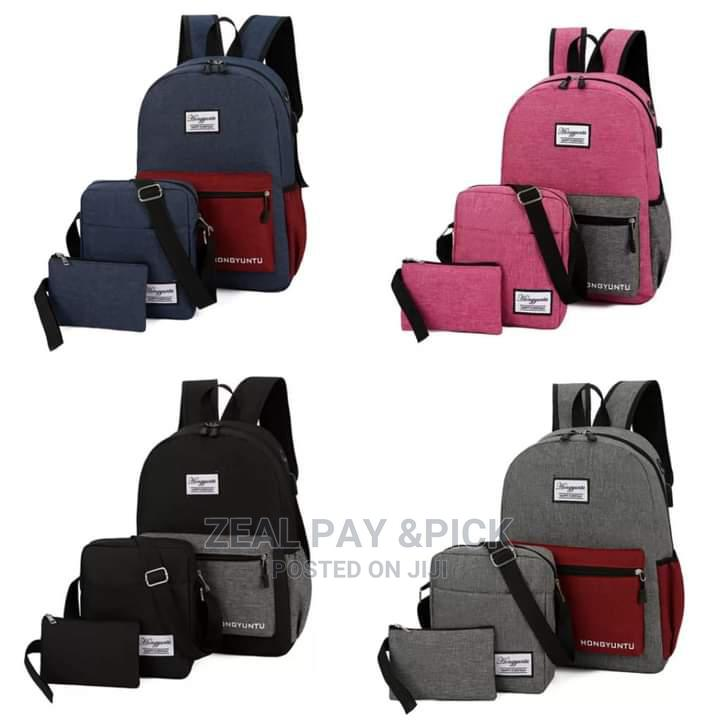 Archive: Canvas 3 in 1 Bags