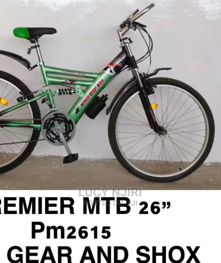 Premier Mountain Bike With Shox