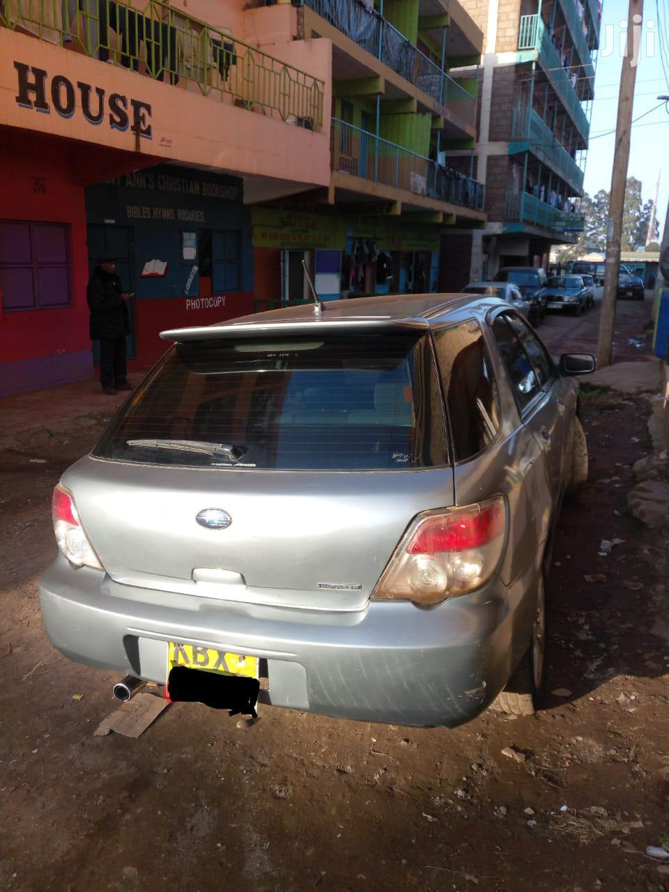Subaru Impreza 2007 Gray   Cars for sale in Githunguri, Kiambu, Kenya