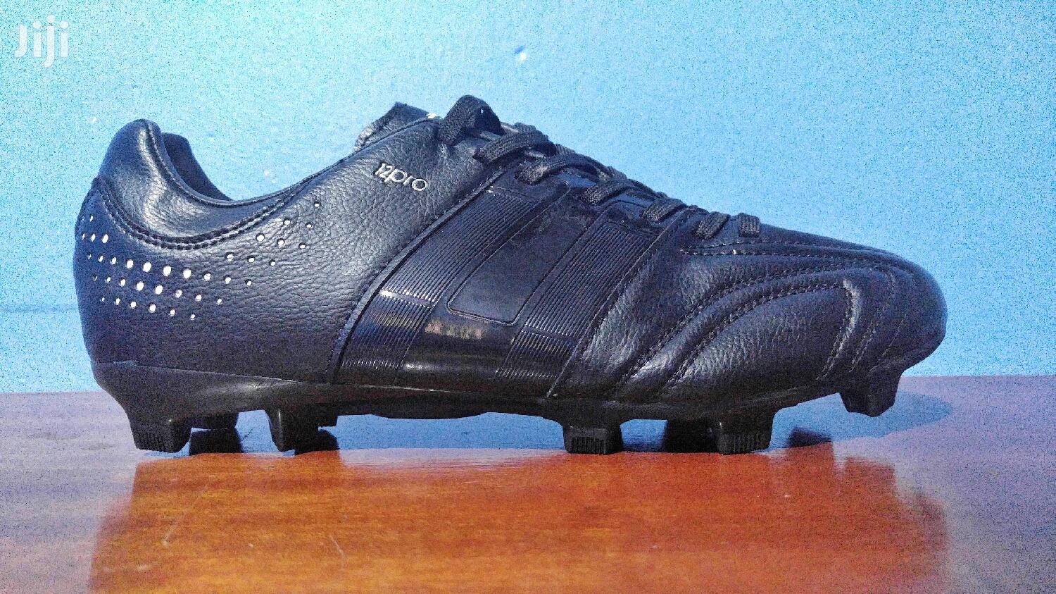Black On Black Adidas 12pro By Meng Soccer Cleats Football Shoe | Shoes for sale in Kilimani, Nairobi, Kenya