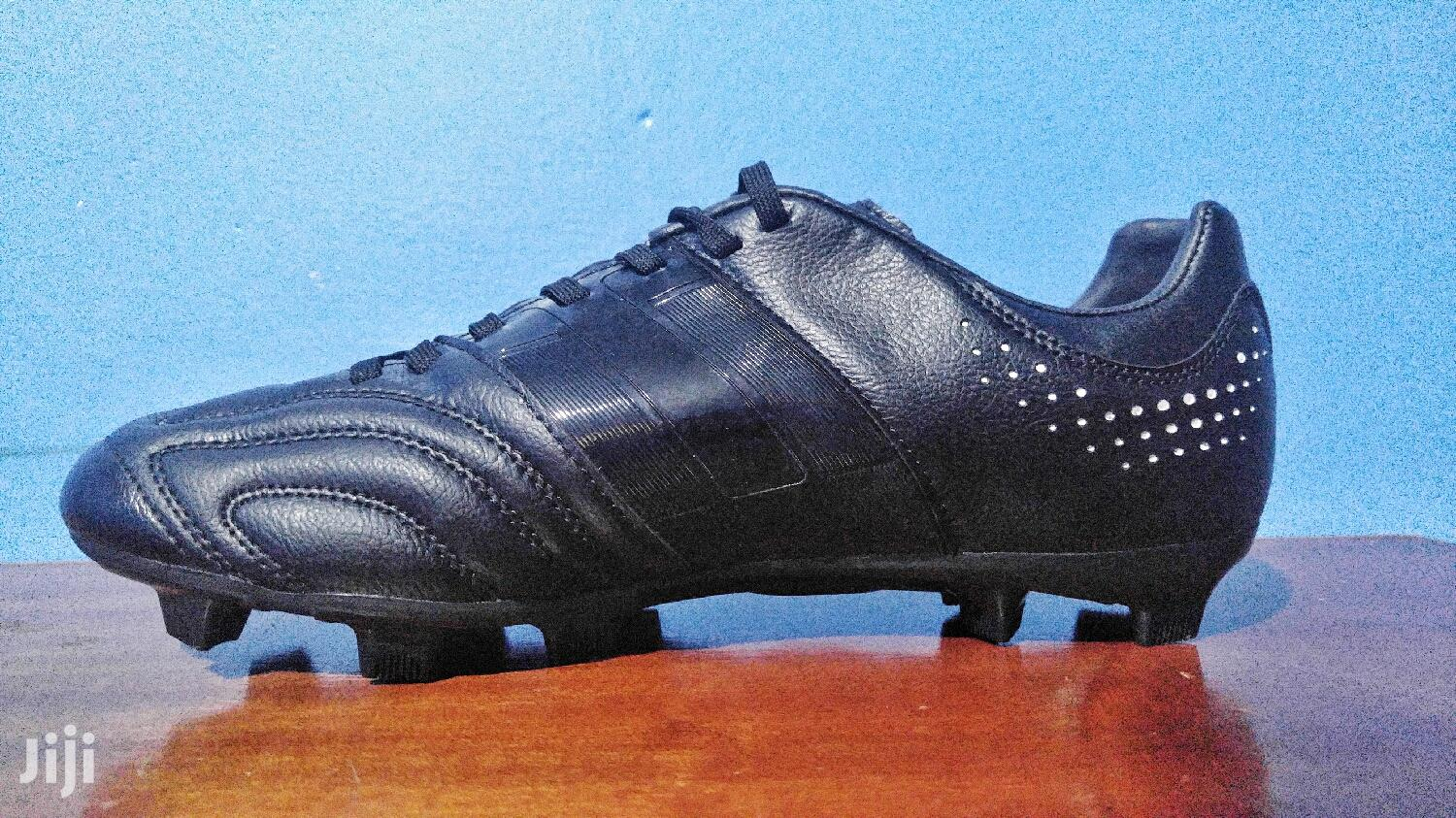 Black On Black Adidas 12pro By Meng Soccer Cleats Football Shoe