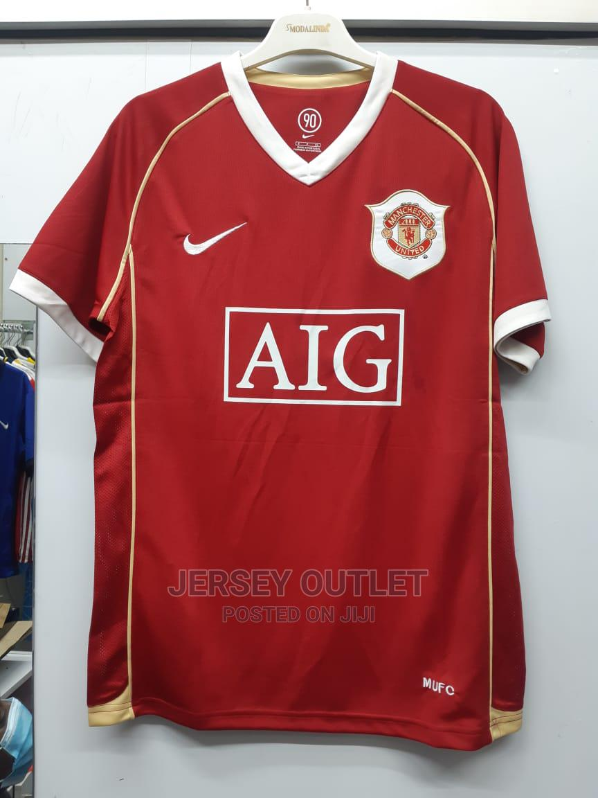 Manchester United 06-07 Home Jersey