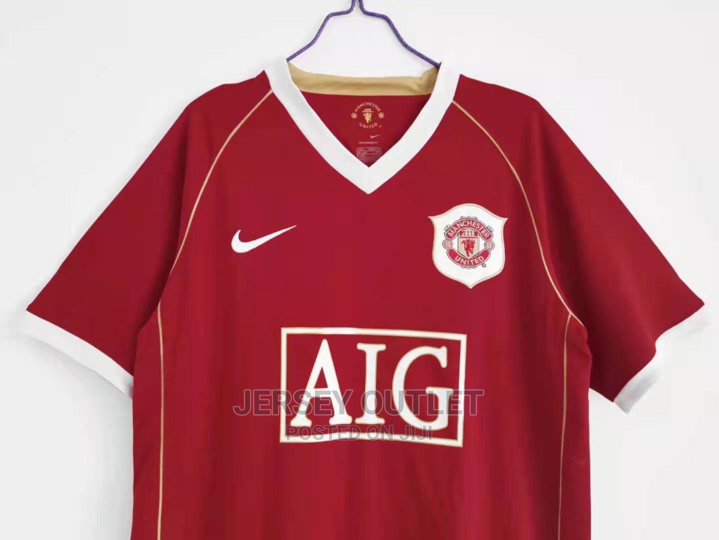 Manchester United 06-07 Home Jersey   Clothing for sale in Nairobi Central, Nairobi, Kenya