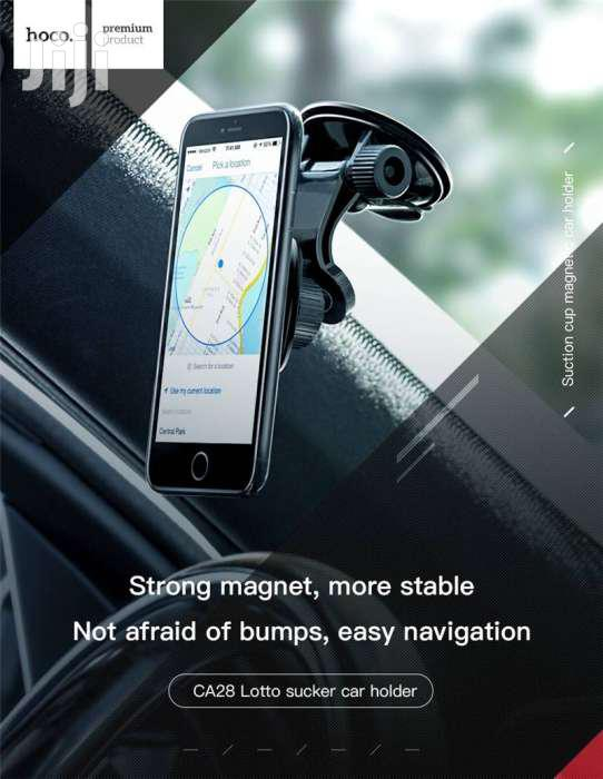 Hoco CA28 Premium Suction Magnetic Dashboard Phone Holder | Vehicle Parts & Accessories for sale in Nairobi Central, Nairobi, Kenya