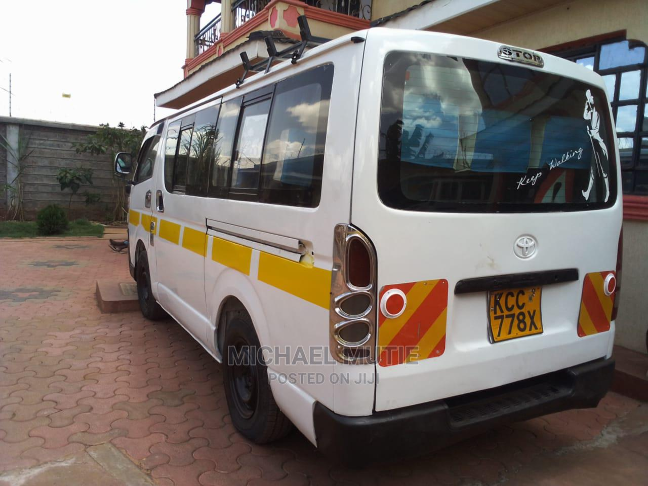 Toyota Hiace 2009 White | Buses & Microbuses for sale in Thika, Kiambu, Kenya