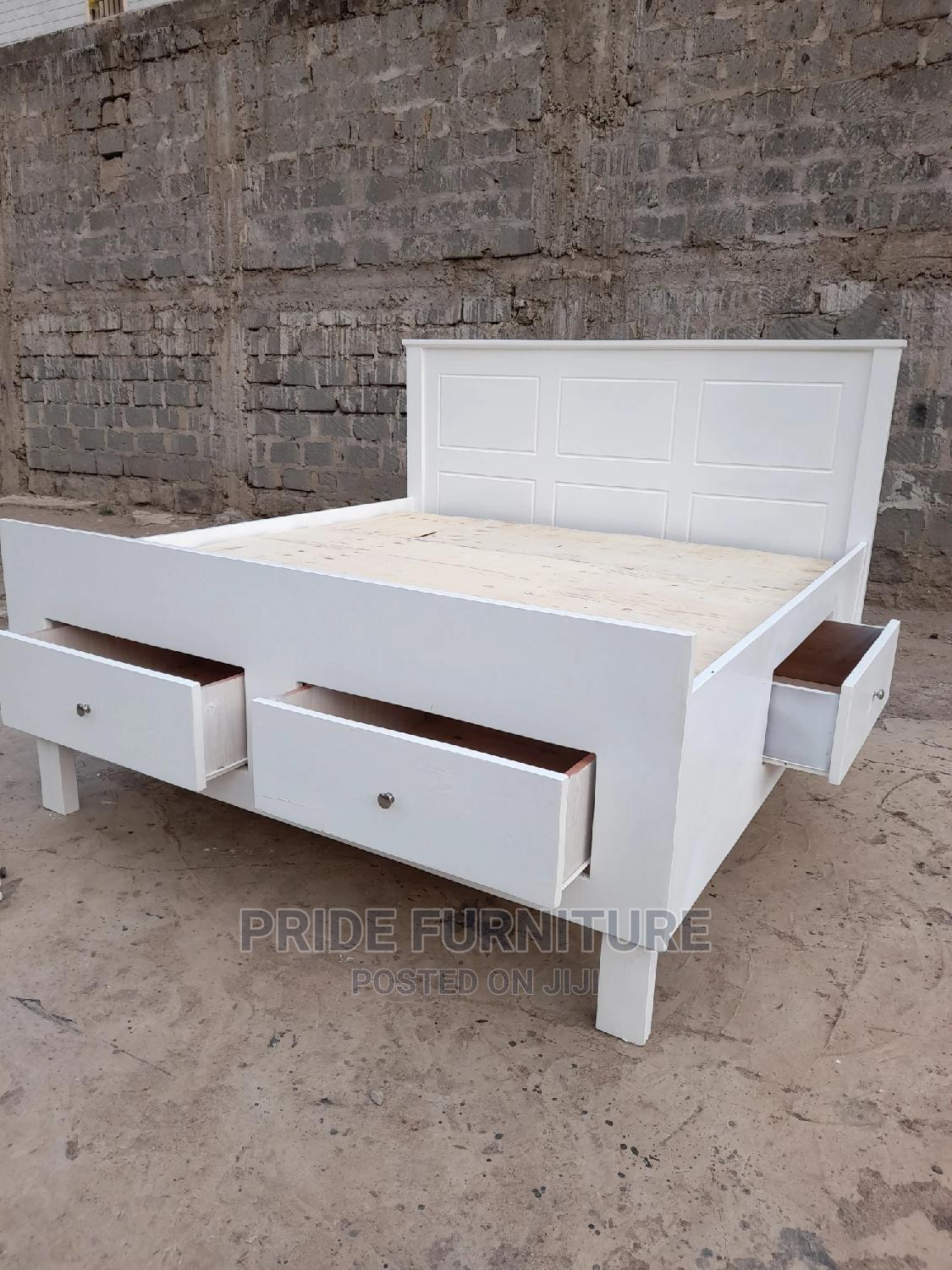Modern 6by6 Drawer Beds