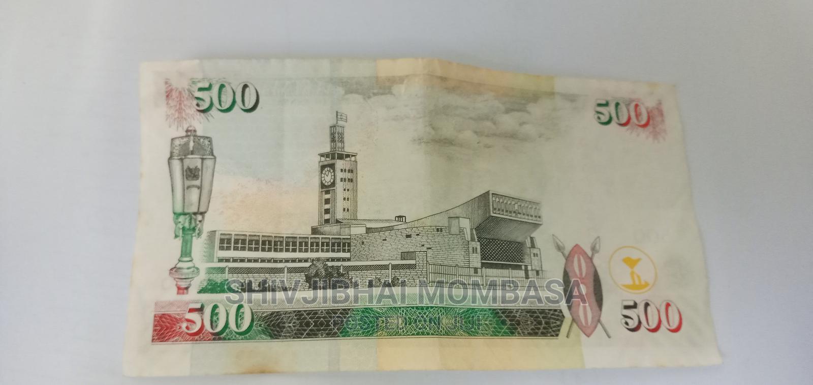 Unik 500 Kenya Shilling Number Note | Arts & Crafts for sale in Ganjoni, Mombasa, Kenya