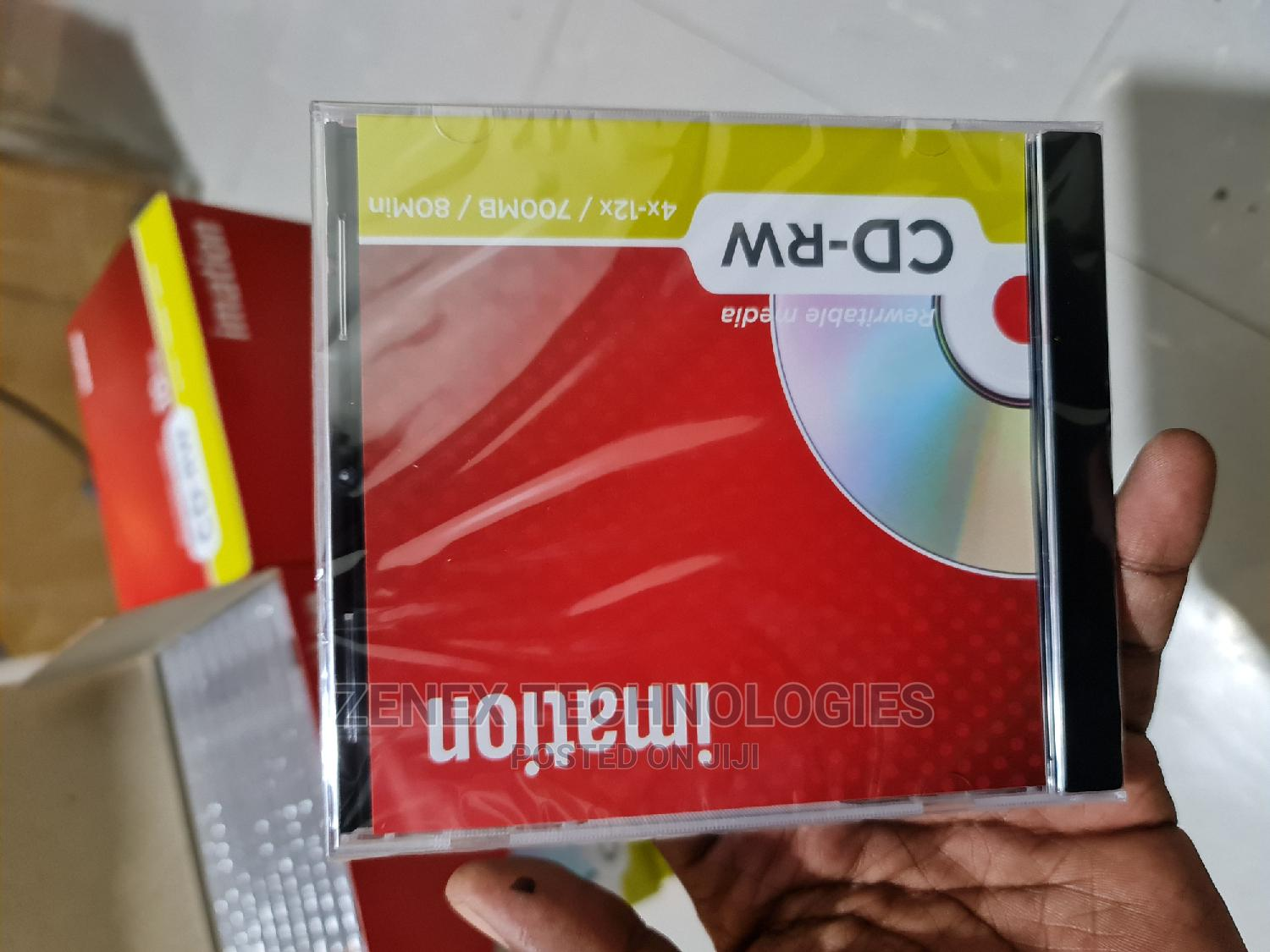 Blank CD RW Rewritable Portable Media | CDs & DVDs for sale in Nairobi Central, Nairobi, Kenya