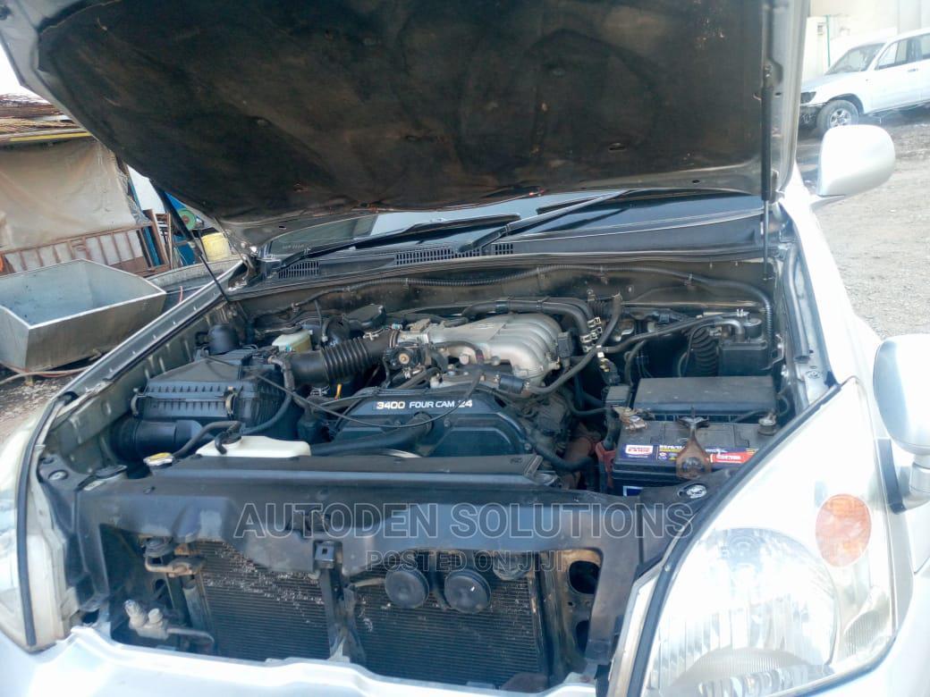 Archive: Toyota Land Cruiser Prado 2004 Silver