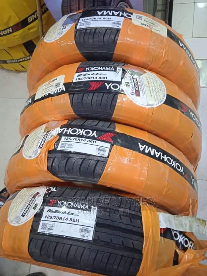 185/70 R14 Yokohama Tyre Made in Japan 88H Nylon