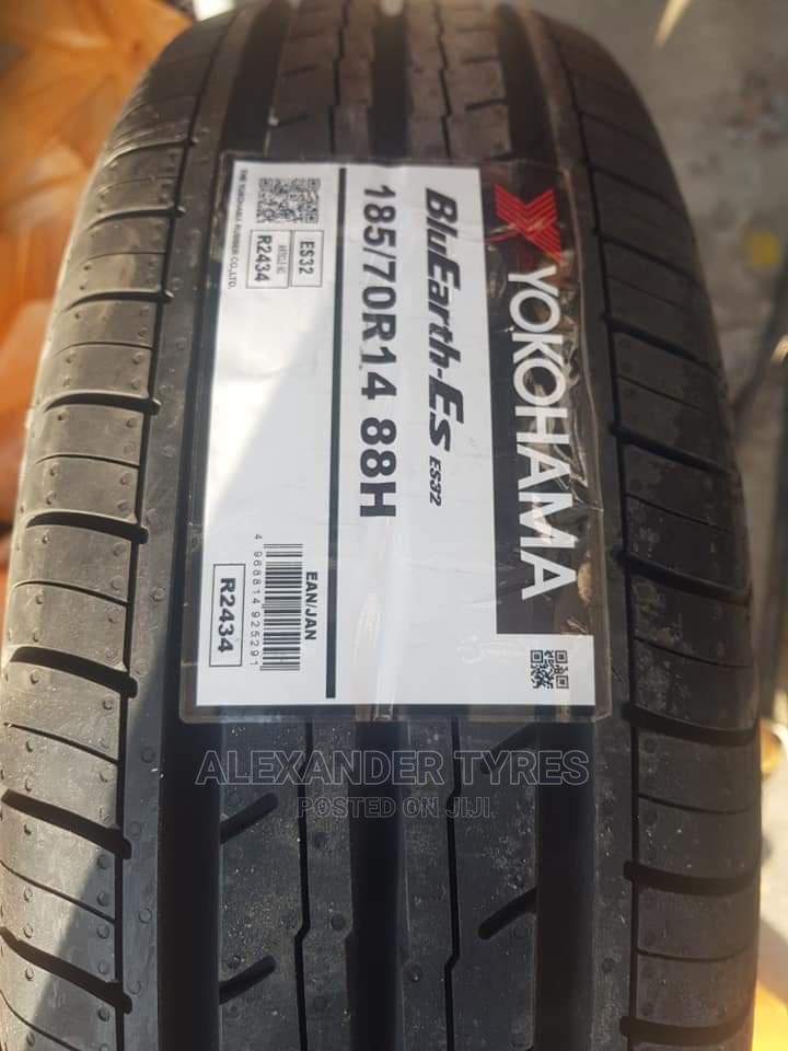 185/70 R14 Yokohama Tyre Bluearth Made in Japan
