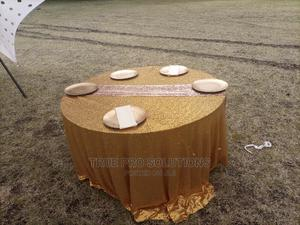 Sequin Table Cover and Table Runners for Hire and Sale | Party, Catering & Event Services for sale in Nairobi, Woodley/Kenyatta Golf Course