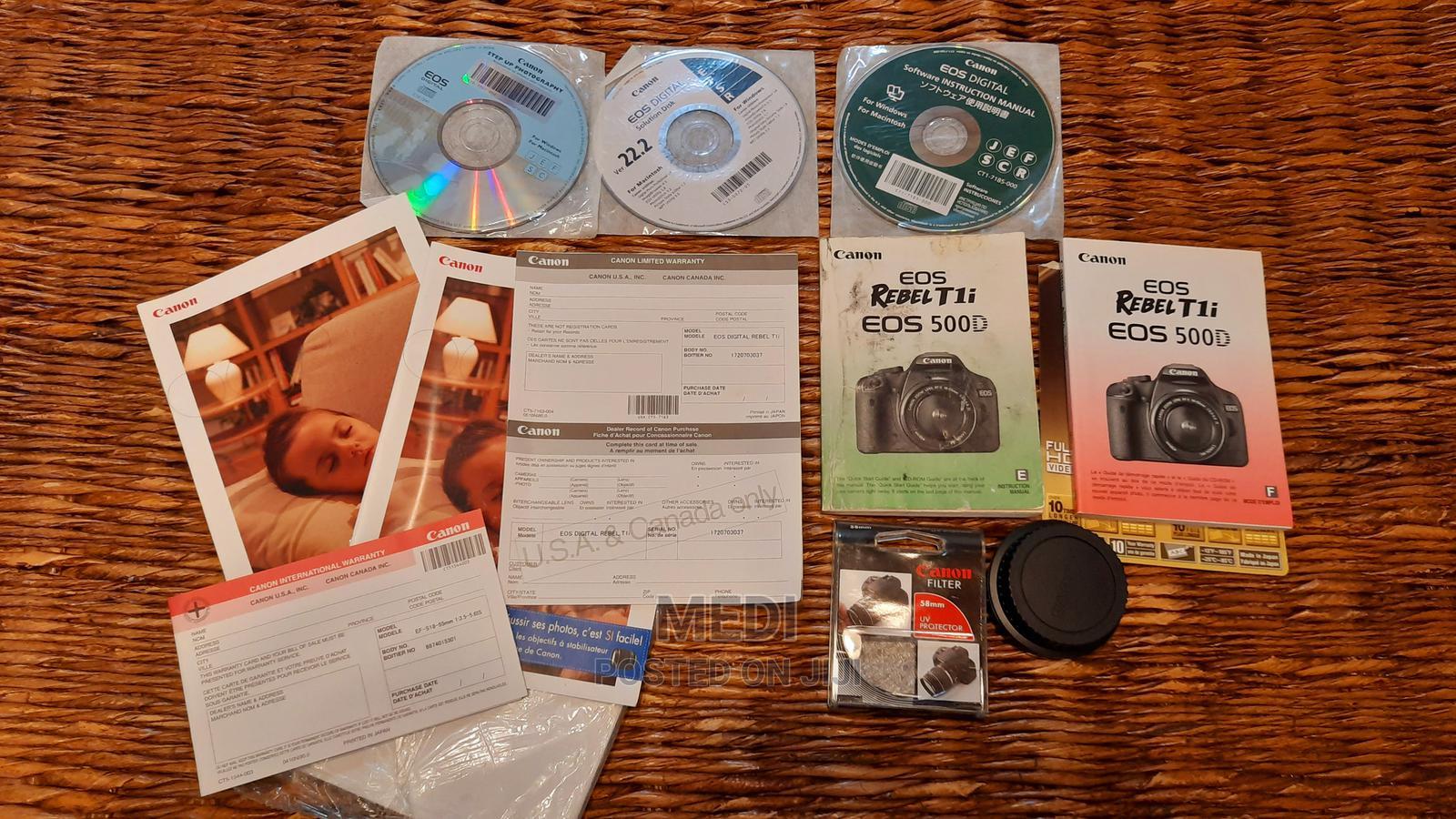 Canon EOS 500d/Rebel T1i | Photo & Video Cameras for sale in Kileleshwa, Nairobi, Kenya