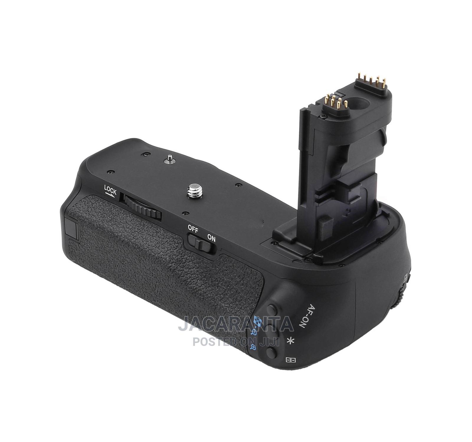 BG-C10 Battery Grip for Canon 70D, 80D 90D DSLR Camera