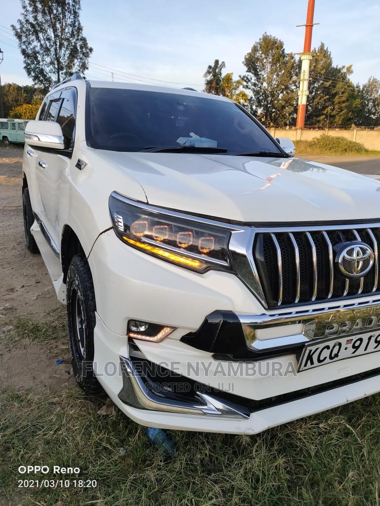 Toyota Land Cruiser Prado 2012 White | Cars for sale in Nairobi Central, Nairobi, Kenya
