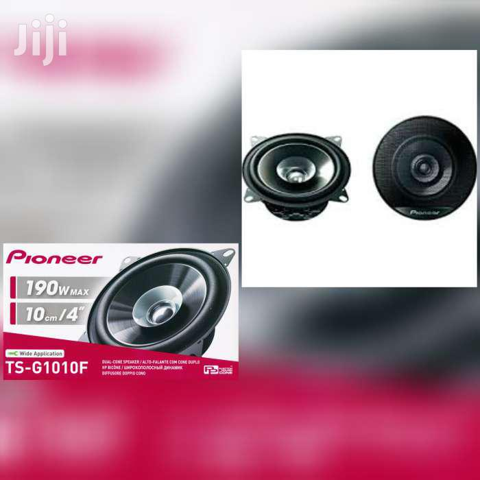 Archive: PIONEER TS-G1010F 4 INCH SPEAKERS 190 WATTS