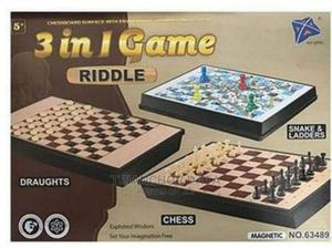 3 in 1 Chess Draft Game Magnetic, Foldable Travel Chess | Books & Games for sale in Nairobi, Nairobi Central