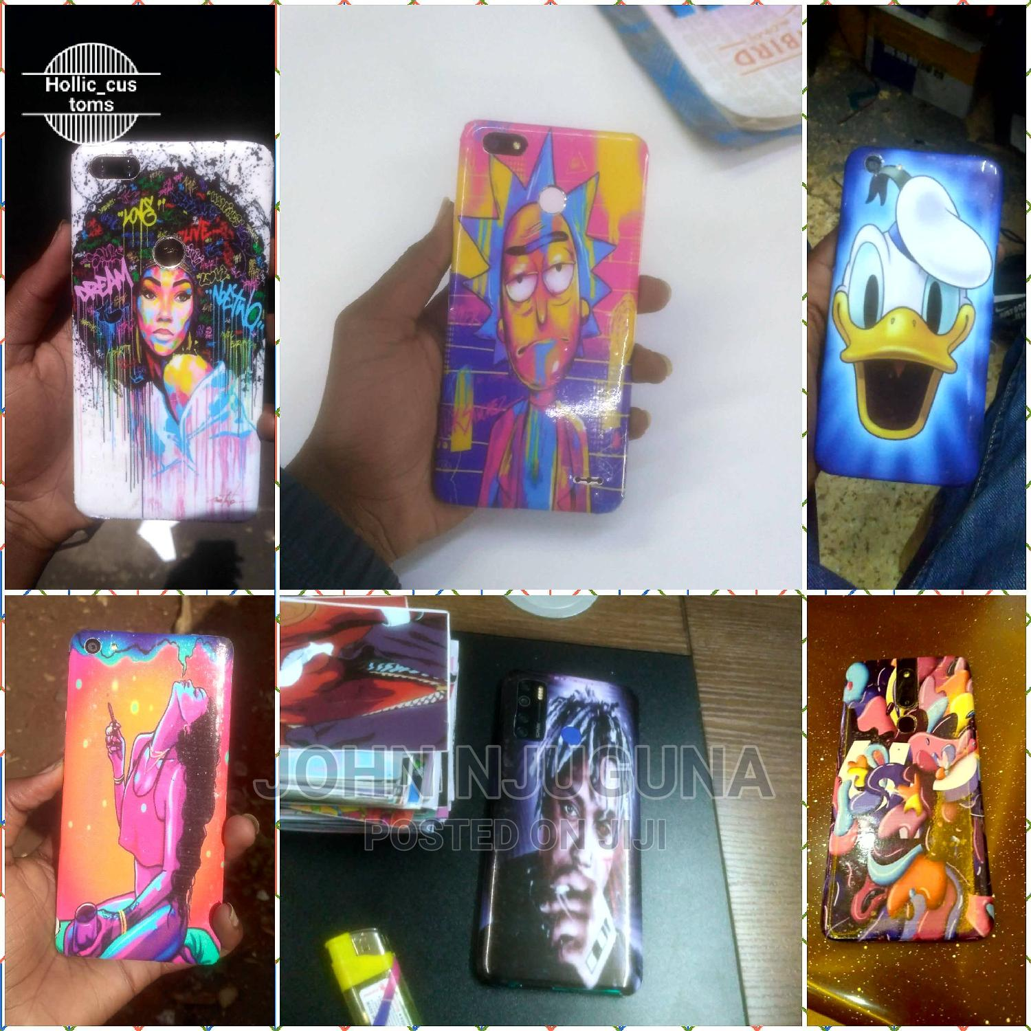 Customized Stickers for Mobile Phones