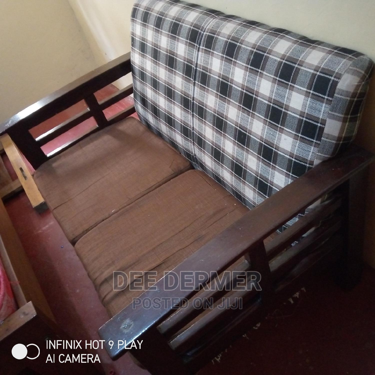 5seater Plus 2seater Extra | Furniture for sale in Lucky Summer, Nairobi, Kenya