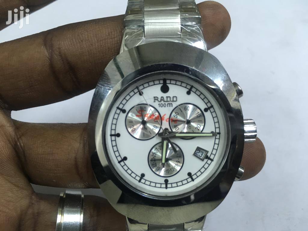 Archive: Silver Rado Watch