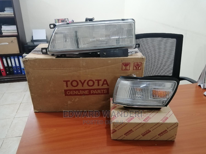 Toyota Sprinter AE91 Head Lamp Comb Lense Left