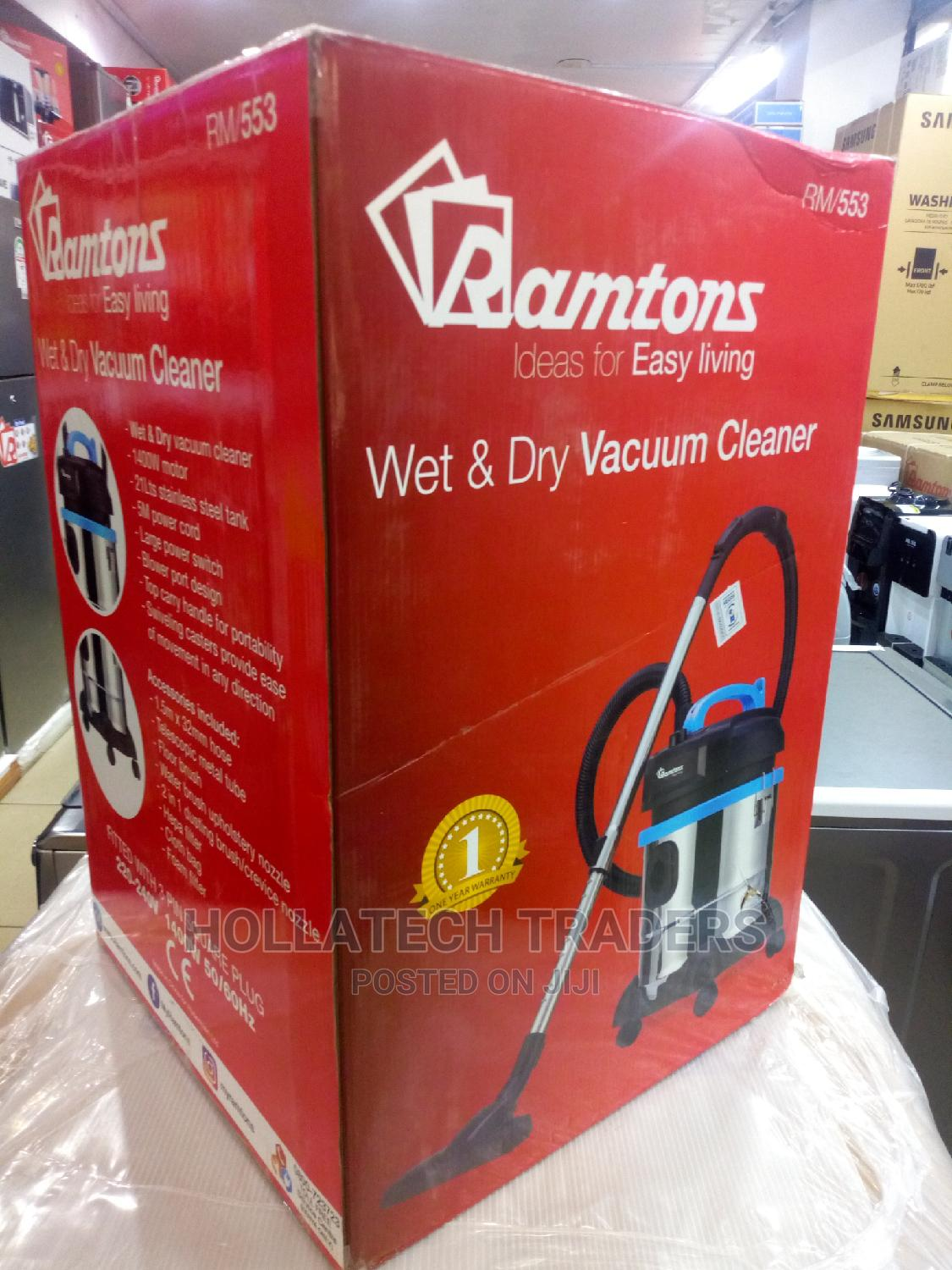 Quality Ramtons Wet and Dry Vacuum Cleaner