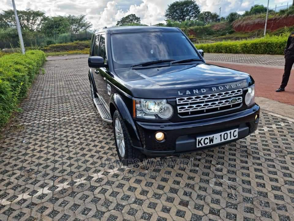 Land Rover Discovery 2013 Black