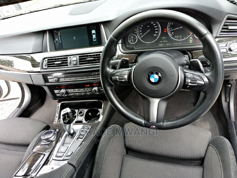 BMW 523i 2014 White   Cars for sale in Lavington, Nairobi, Kenya