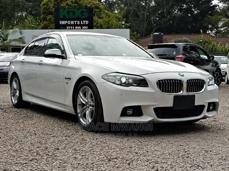 BMW 523i 2014 White