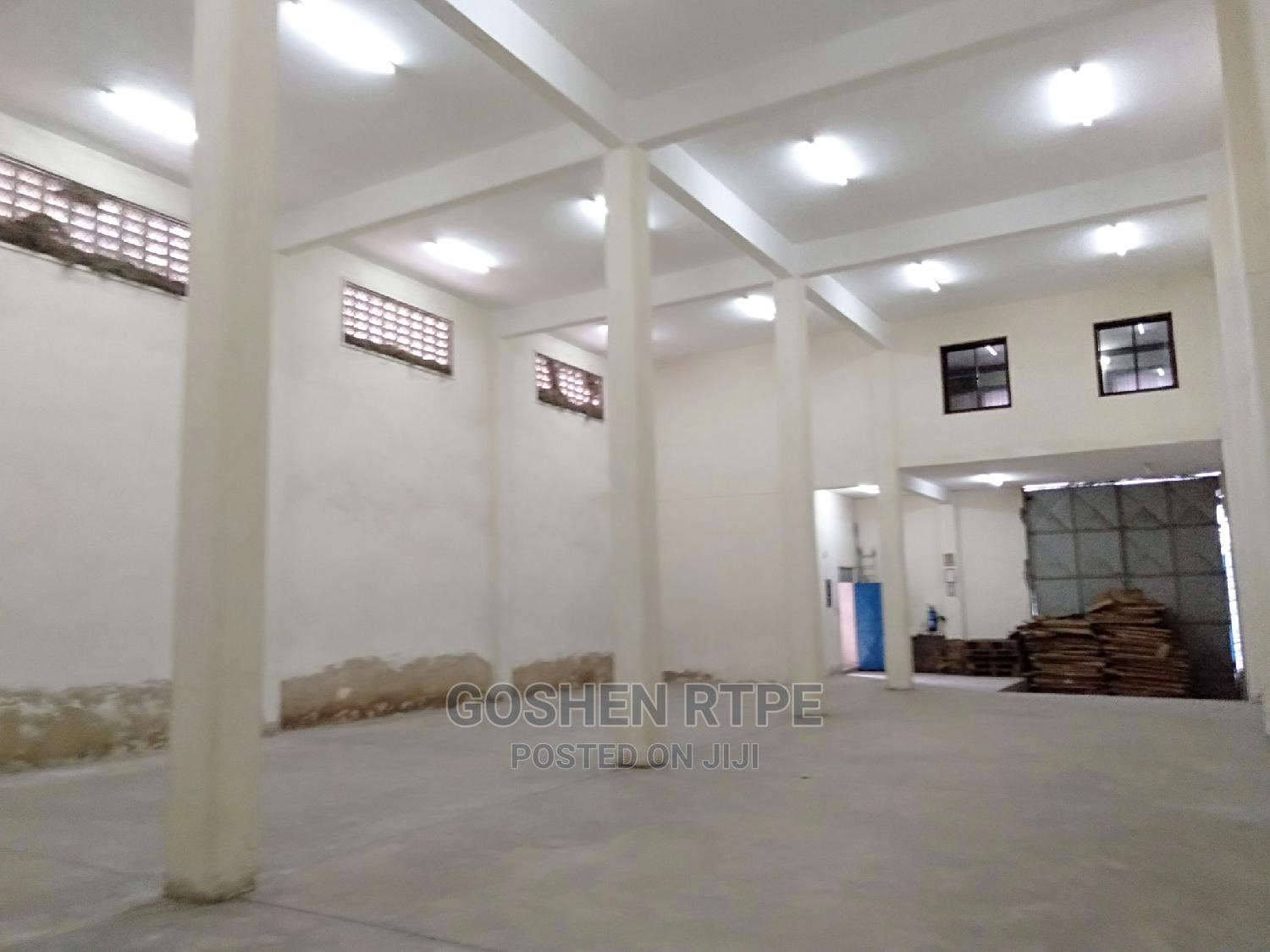 Marvelous Godown at Ksh 120K to Let Within Mombasa Island