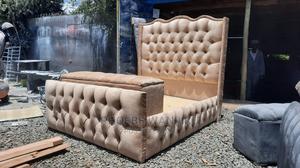 5 by 6 Modern Bed +Ottoman   Furniture for sale in Nairobi, Kahawa