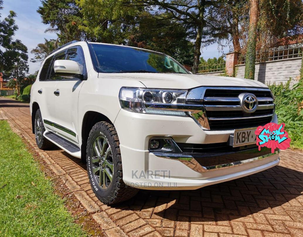 Toyota Land Cruiser Prado 2008 White