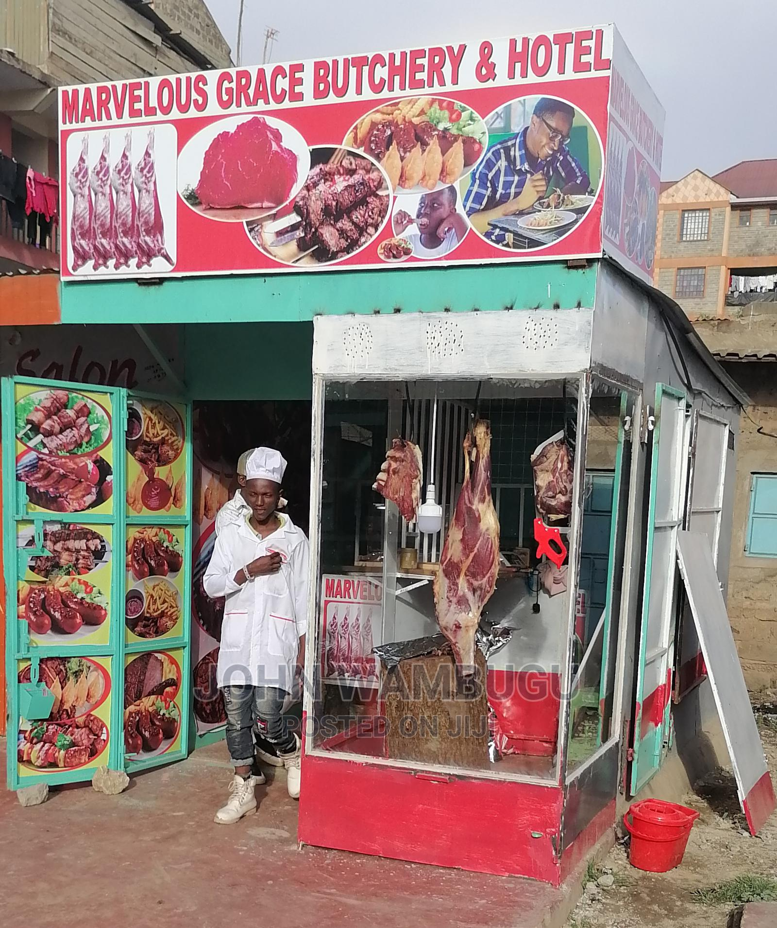 Butchery and Hotel on Sale