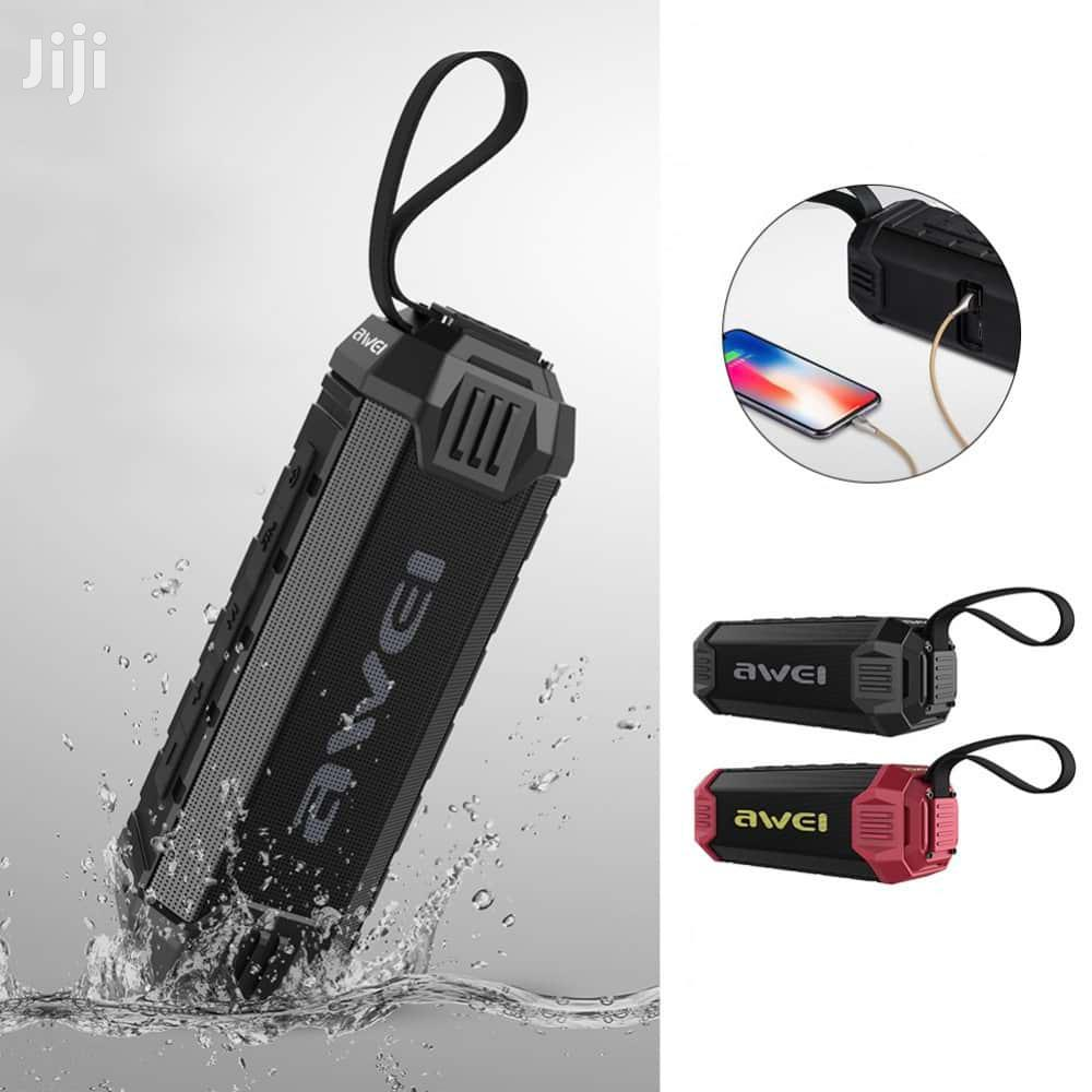 Wireless Bluetooth Speaker Outdoor Waterproof Power Bank AWEI Y280