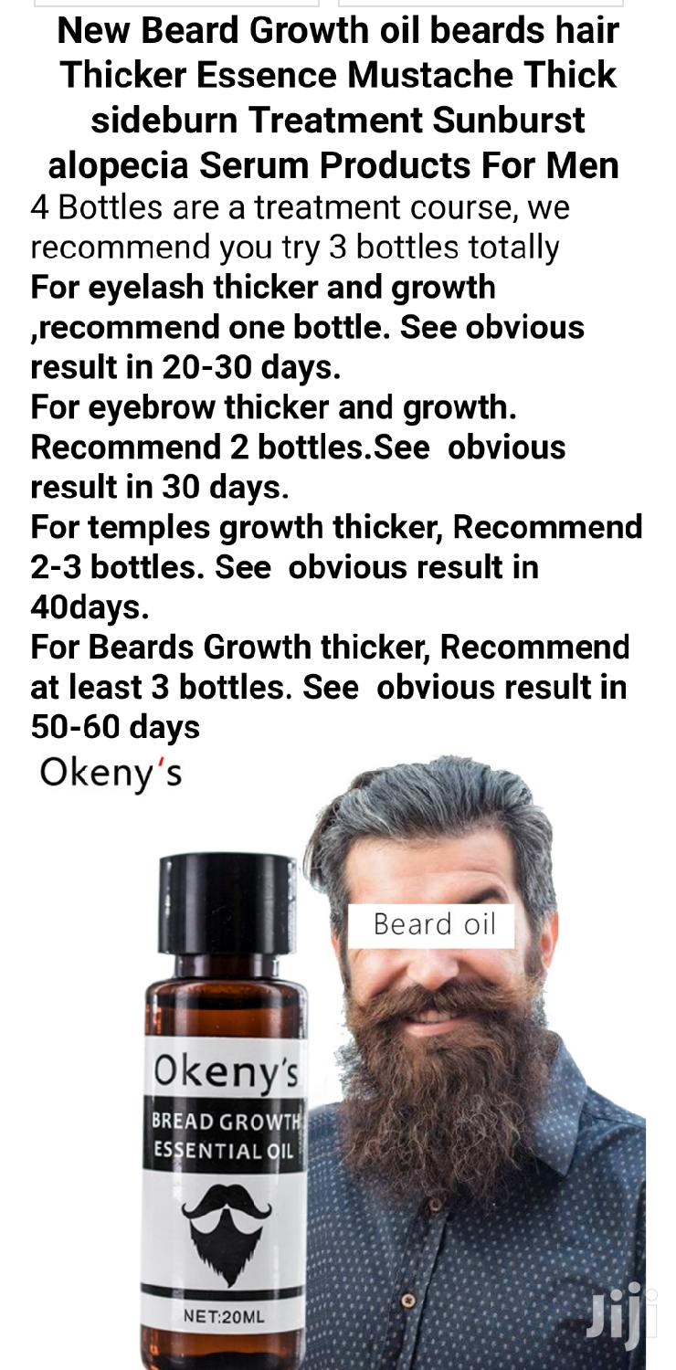 Archive: Okeny's Beard Grower And Enhancing Oil