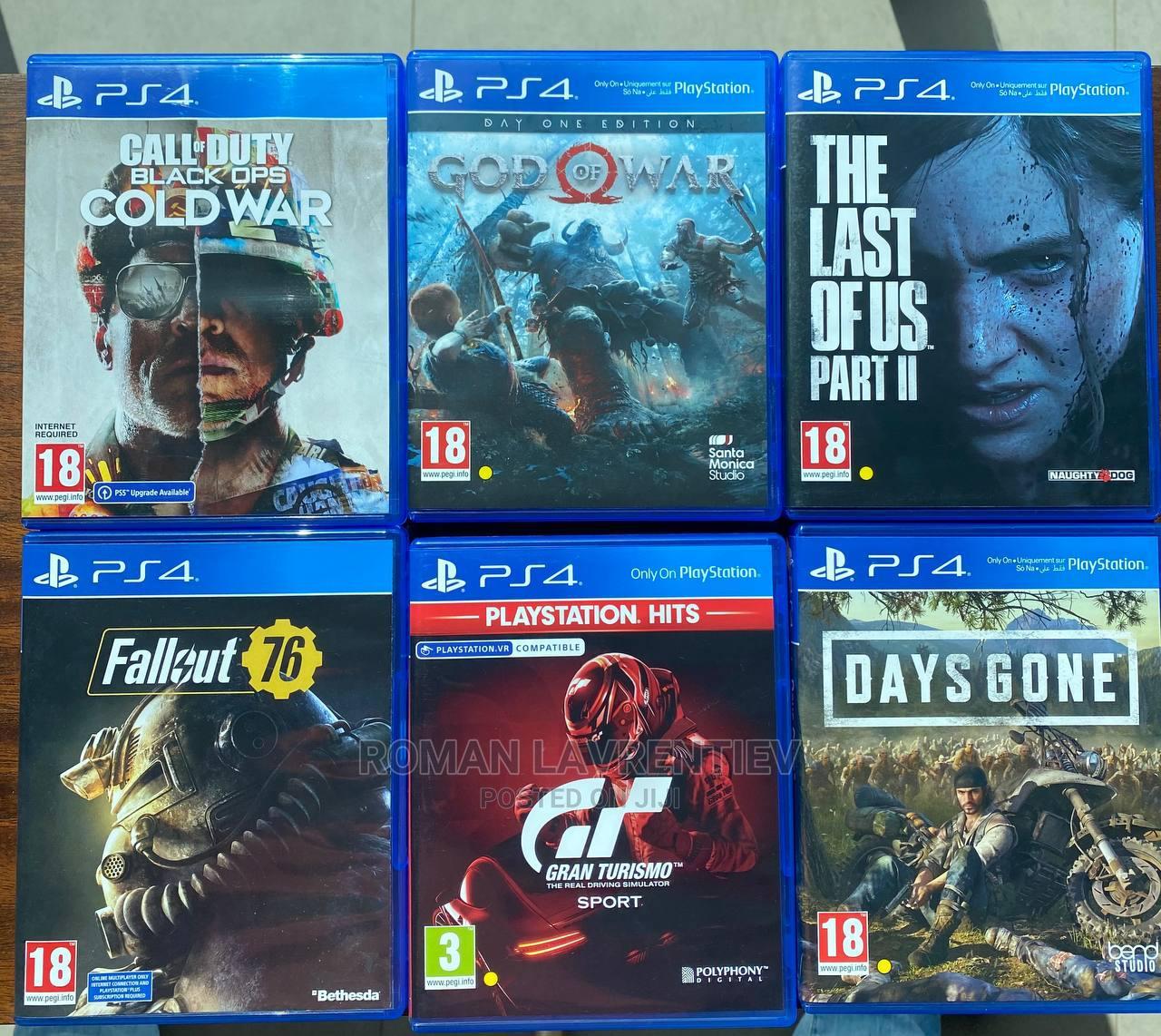 Sony Playstation Games