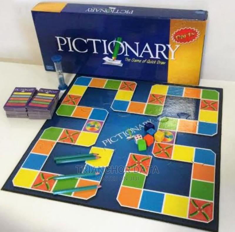 Pictionary GAME Family Board Game