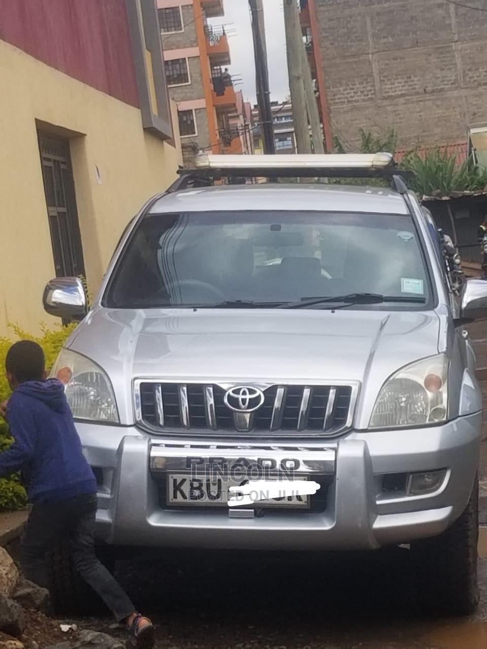 Toyota Land Cruiser Prado 2006 Silver   Cars for sale in Gikondi, Mukurweini, Kenya