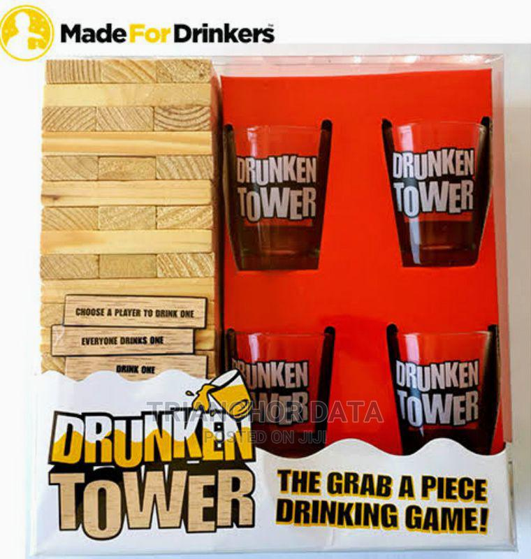 Drunken Jenga Tower Game