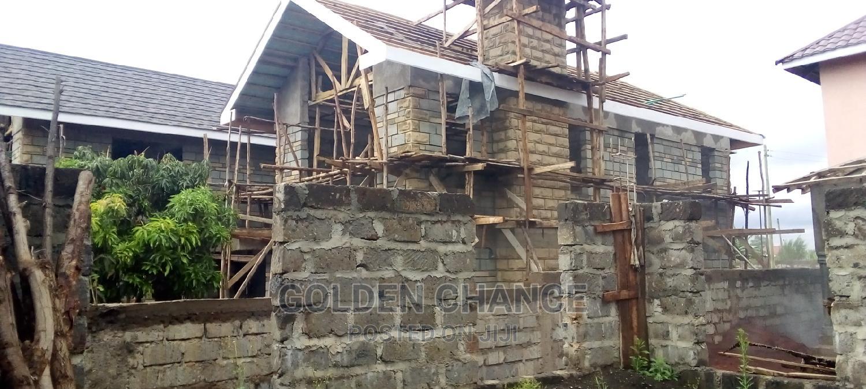 Mugumo Fig Tree 50*100 With Incomplete 4 Bedroom Massionate | Land & Plots For Sale for sale in Kiuu, Kiambu / Kiambu , Kenya
