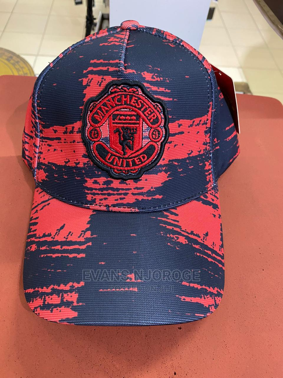 Archive: Authentic Manchester United Baseball Caps.