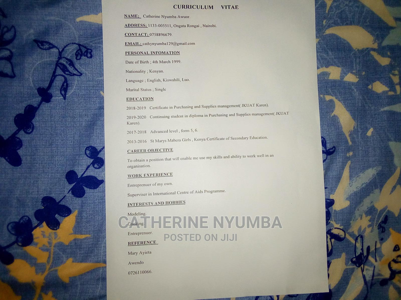 Cleaners Job | Housekeeping & Cleaning CVs for sale in Ongota Rongai, Kajiado, Kenya