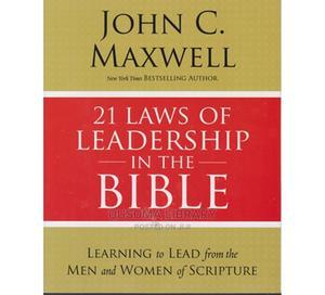 21 Laws of Leadership in the Bible-John C. Maxwell | Books & Games for sale in Kajiado, Kitengela
