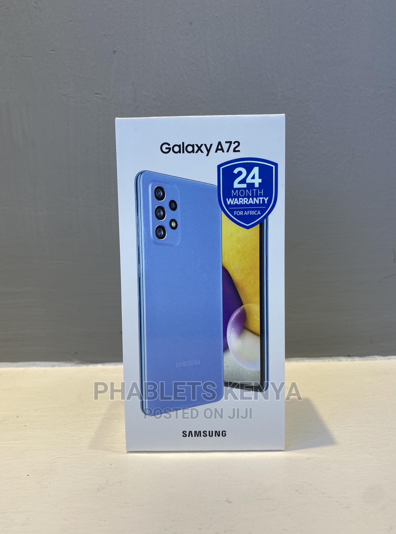 New Samsung Galaxy A72 128GB