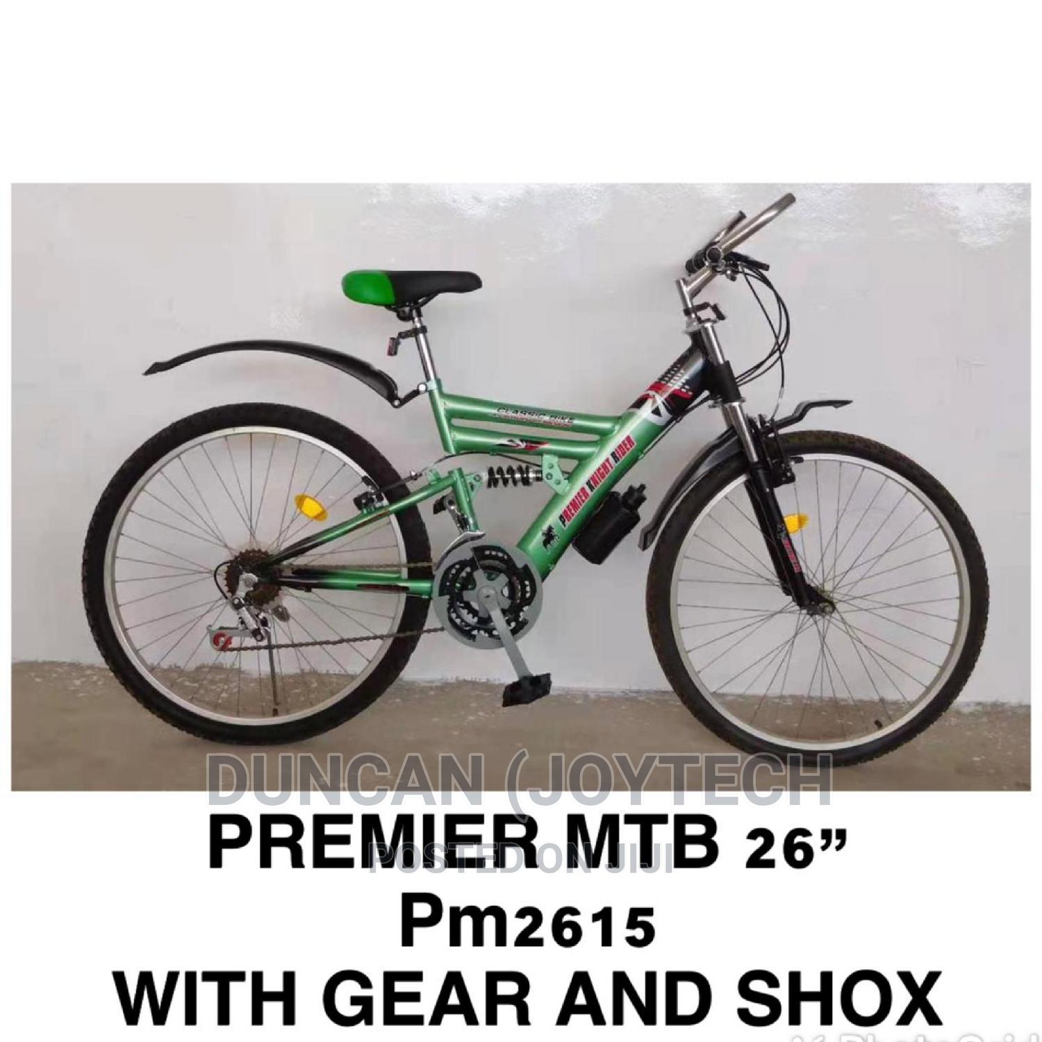 """Archive: Premier Mountain Bike Size 26"""",With Gear and Shox"""