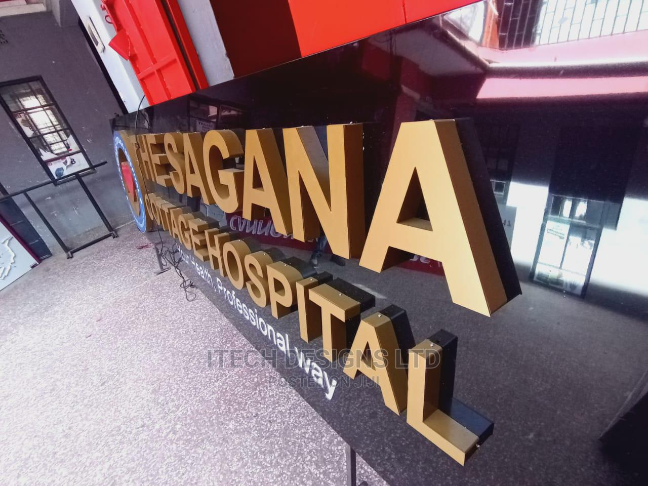 3D Signage Fabrication | Printing Services for sale in Nairobi South, Nairobi, Kenya
