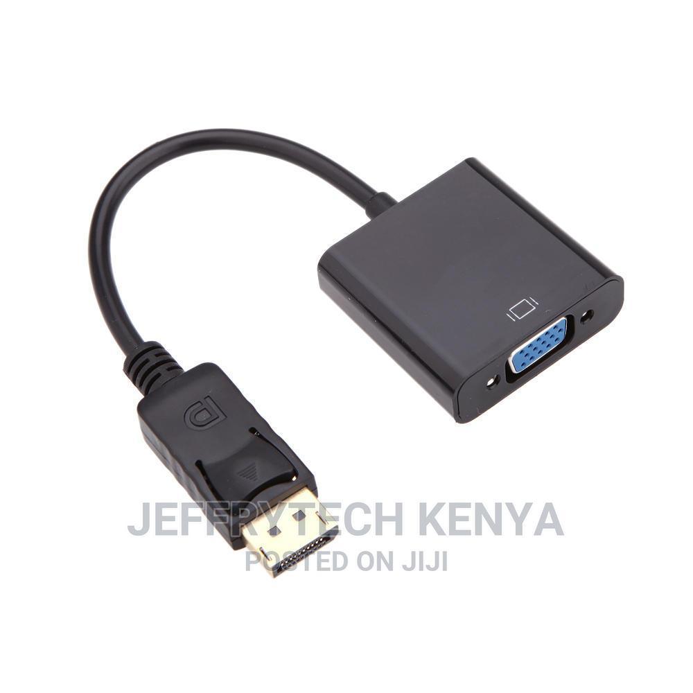 Hot-Selling 1080p DP Displayport Male to VGA Female Converte   Computer Accessories  for sale in Nairobi Central, Nairobi, Kenya