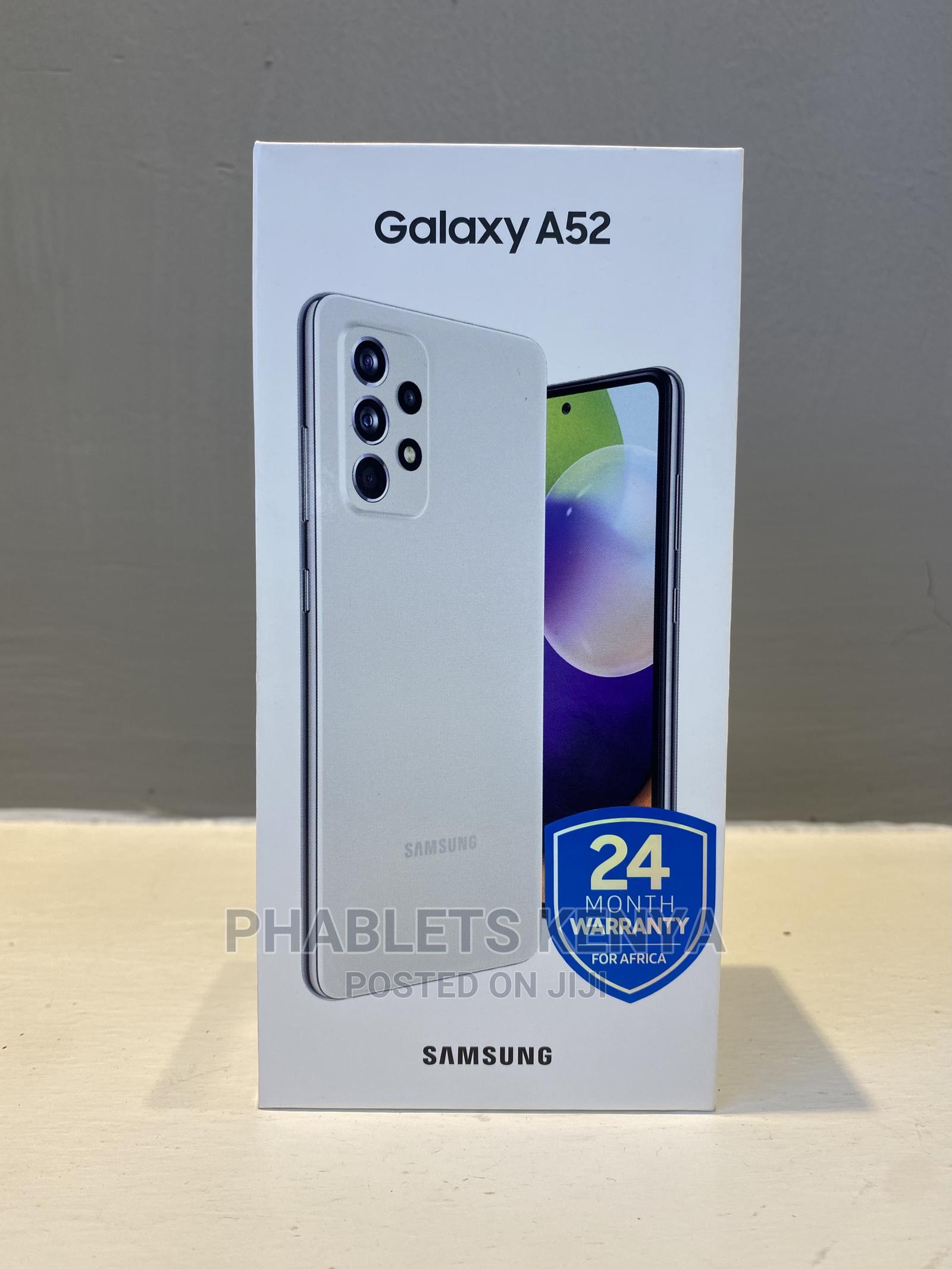 New Samsung Galaxy A52 128 GB White